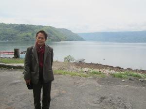 Ke danau dan sungai tanahair, aku tahu jalan kembali (Foto Heronika.Dok.Lembaga Kebudayaan Dayak Kalimantan Tengah, 2013)