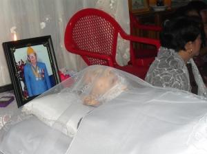 Mayor Tiyel Djelau salah seorang pejuang kemerdekaan bersama pahlawan nasional Tjil Riwut telah meninggal di Palanka Raya (Doto.Dok. Andriani S. Kusni)
