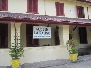 Museum La Galigo yang terdapat di dalam Fort Rotterdam (Foto. Dok. Andriani S. Kusni, 2014)