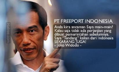 PT Freeport Indonesia Berakhir?