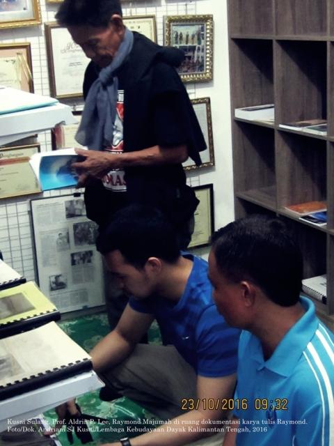 Foto/Dok. Andriani SJ Kusni/Lembaga Kebudayaan Dayak Kalimantan Tengah
